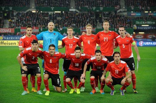 Áustria é a 29ª em ranking da Fifa